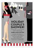 Holiday Couples Shower Invitation