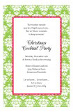 Holiday Damask Invitation