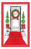 Holiday Door Invitation