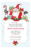 Holiday Jolly Ole St. Nick Invitation