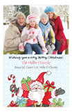 Holiday Jolly Ole St. Nick Photo Card