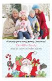 Holiday Jolly Ole St. Nick Photo Card