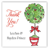 Holiday Open House Square Sticker