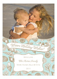 Holiday Sea Shells Photo Card