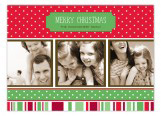Holiday Style Traditional Photo Card