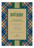 Holiday Tartan Invitation