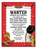 Hook em Invitation