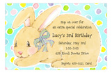 Hoppy Birthday Invitation