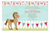 Horsing Around Invitation
