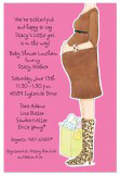 Hot Momma Pink Invitation
