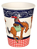 Howdy Cowboy Party Cups