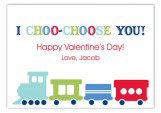 I Choo-Choose You Valentine Card