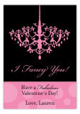 I Fancy You Valentine Card