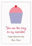 Icing on My Cupcake Valentine Card