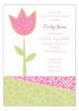Intense Tulip Invitation
