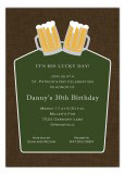Irish Ale Invitation