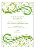 Irish Spirit Invitation