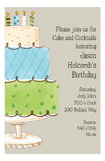 Its Cake Time Invitation
