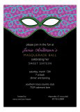 Jeweled Mask Invitation