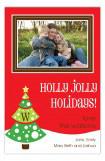 Jolly Holiday Photo Card