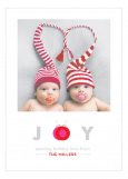 Joy Ornaments Photo Card