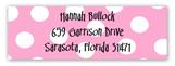 Jump In Girl Rectangular Sticker