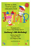 Jump Kids Invitation