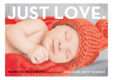 Just Love Christmas Photo Card