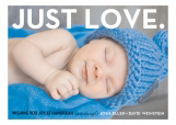 Just Love Hanukkah Photo Card