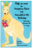 Kangaroo Invitation