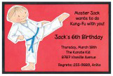 Karate Invitation