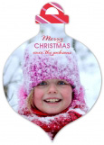 Keep Calm And Jingle On Ornament Photo Card