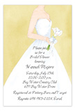 Khaki Bride Invitation