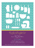 Kitchen Tools Invitation
