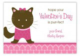 Kitten Kisses Valentine Card