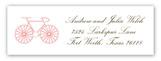 La Bicyclette Address Label