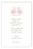 La Bicyclette Invitation