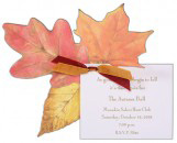 Leaves Invitation