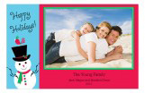 Happy Holidays Family Photo Cards