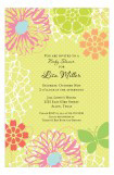 Lime Floral Invitation