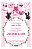 Lingerie String Party Invites