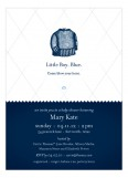 Little Boy Blue Shower Invitation