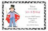 Little Magician Boy Invitation