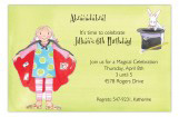 Little Magician Girl Invitation