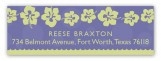 Little Miss Mermaid Address Label