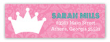 Little Princess Onesie Address Label
