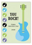 Little Rockstar Valentine Card