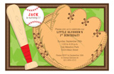 Little Slugger Invitation