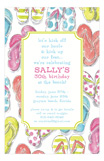 Lollypop Flops Invitation