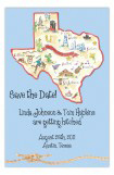 Lone Star State Save the Date Cards